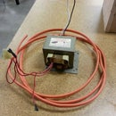 How to remove the secondary windings from a microwave oven transformer.