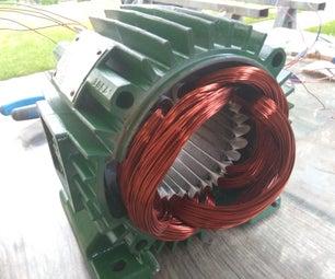 Rewinding 3 Phase Motor