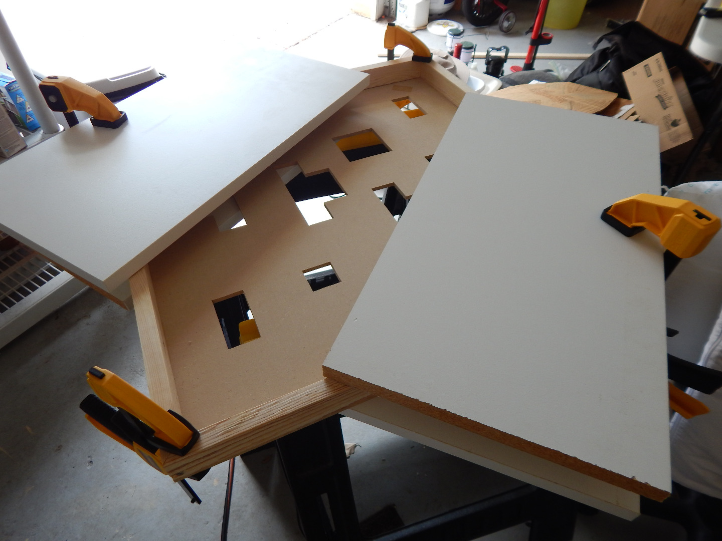 Picture of Build the Frame and Attach the Face to It