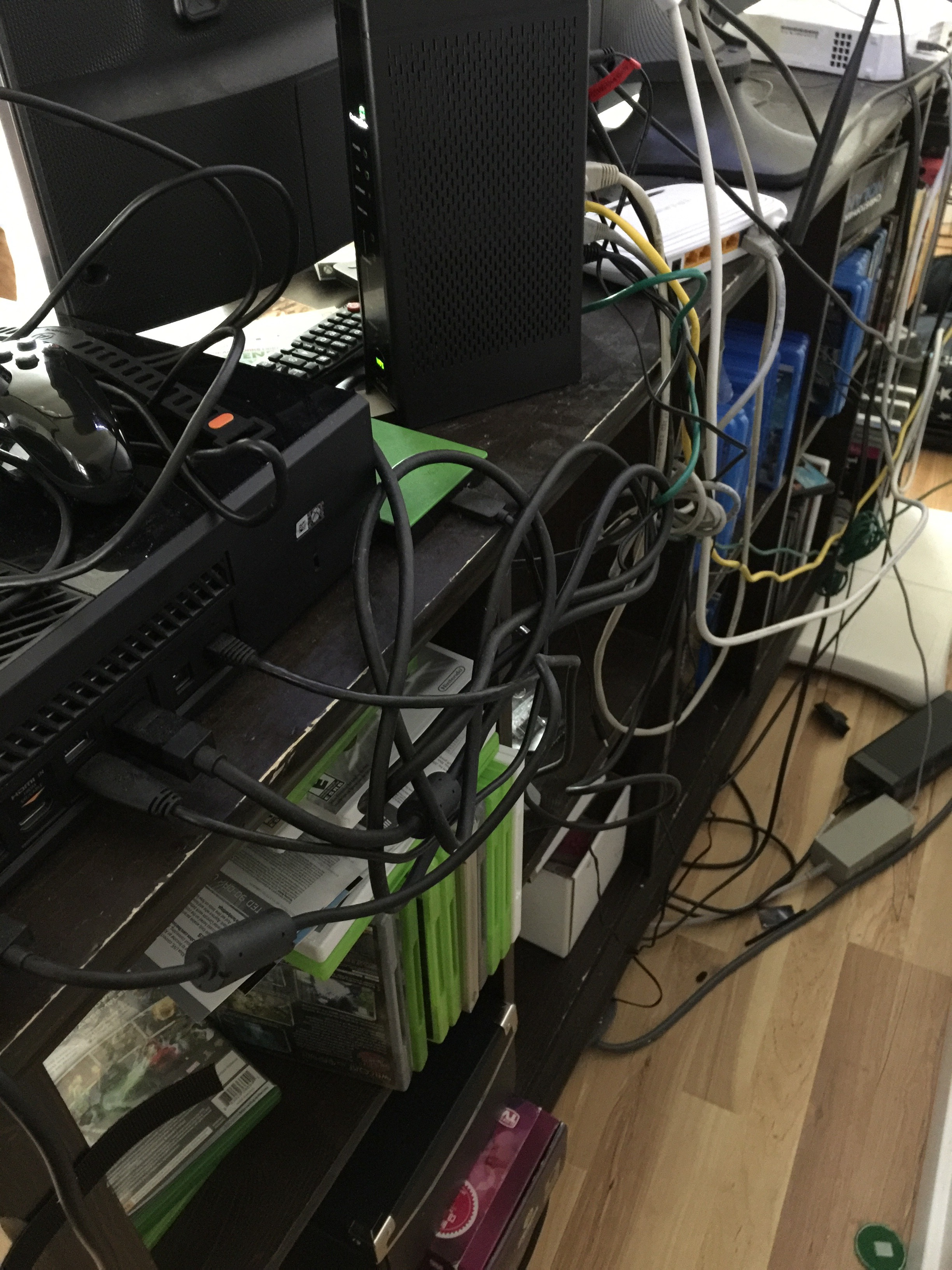 Picture of Custom Cable Management for Ikea Furniture