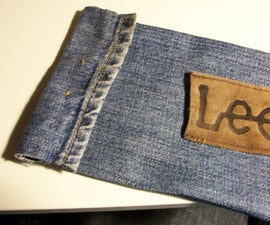 Old Jeans Pencil Case