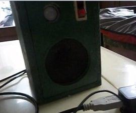 How to make mini portable speaker