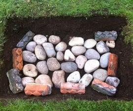 Make your own Maori 'hangi' (earth oven)