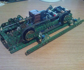 Meccano Walking Machine
