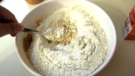 Add Baking Soda and Flour