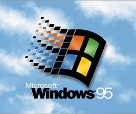 Run Windows 95 On Windows7/Xp/vista