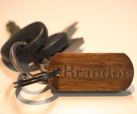 Custom Name Keychain