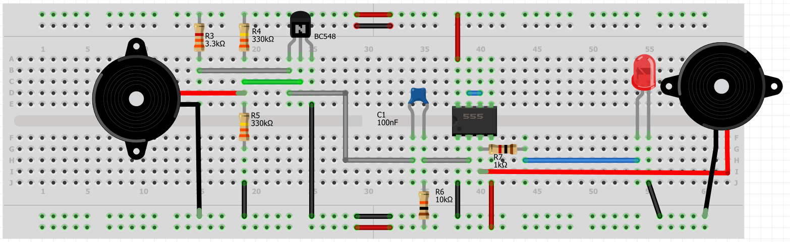 Picture of IC Pin 6 & 7 Connections