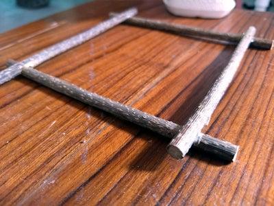 Wooden Deck Frame