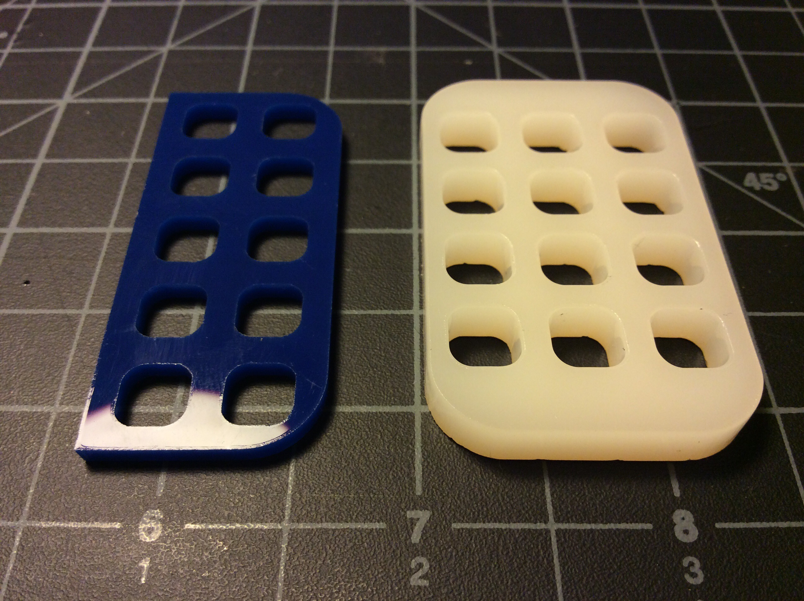 Picture of Lasercut Pieces and Glue