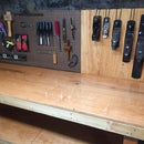 Simple & sturdy workbench
