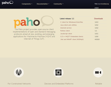 Paho Mqtt Library Download and Import.