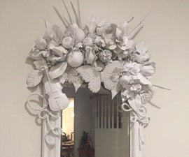 Beautiful DIY Mirror for less than $35