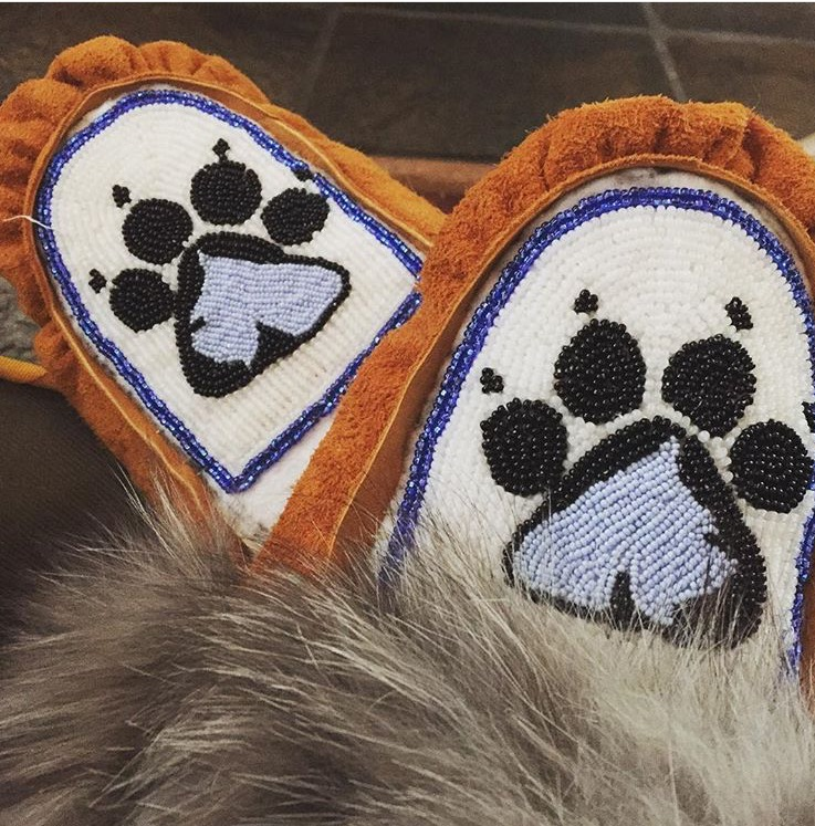 Picture of Moose Hide Moccasins