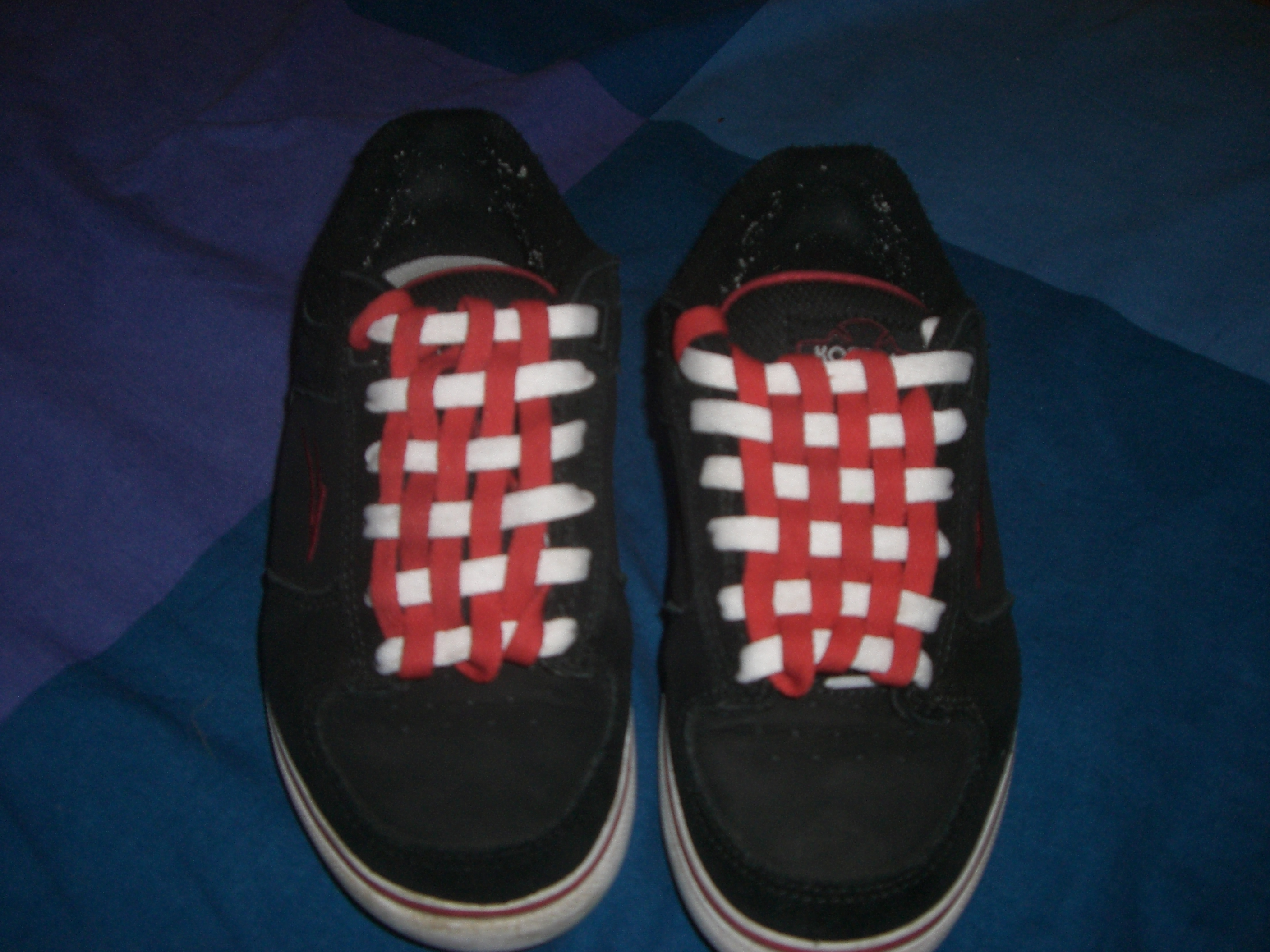 Picture of Checkerboard Your Shoelaces