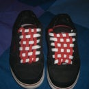 Checkerboard Your Shoelaces