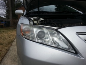 Picture of Ugly, Milky Headlights.