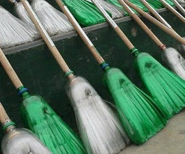 How to Make a Broom From Plastic Bottles