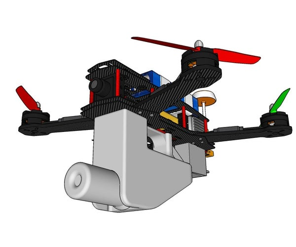 DIY 3D Printed Assassination Drone