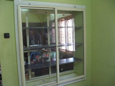 The Completed Cupboard With Sliding Doors