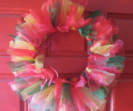 Easy Tutu X-Mas Wreath