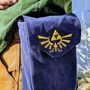 A Zelda Triforce Belt Pouch