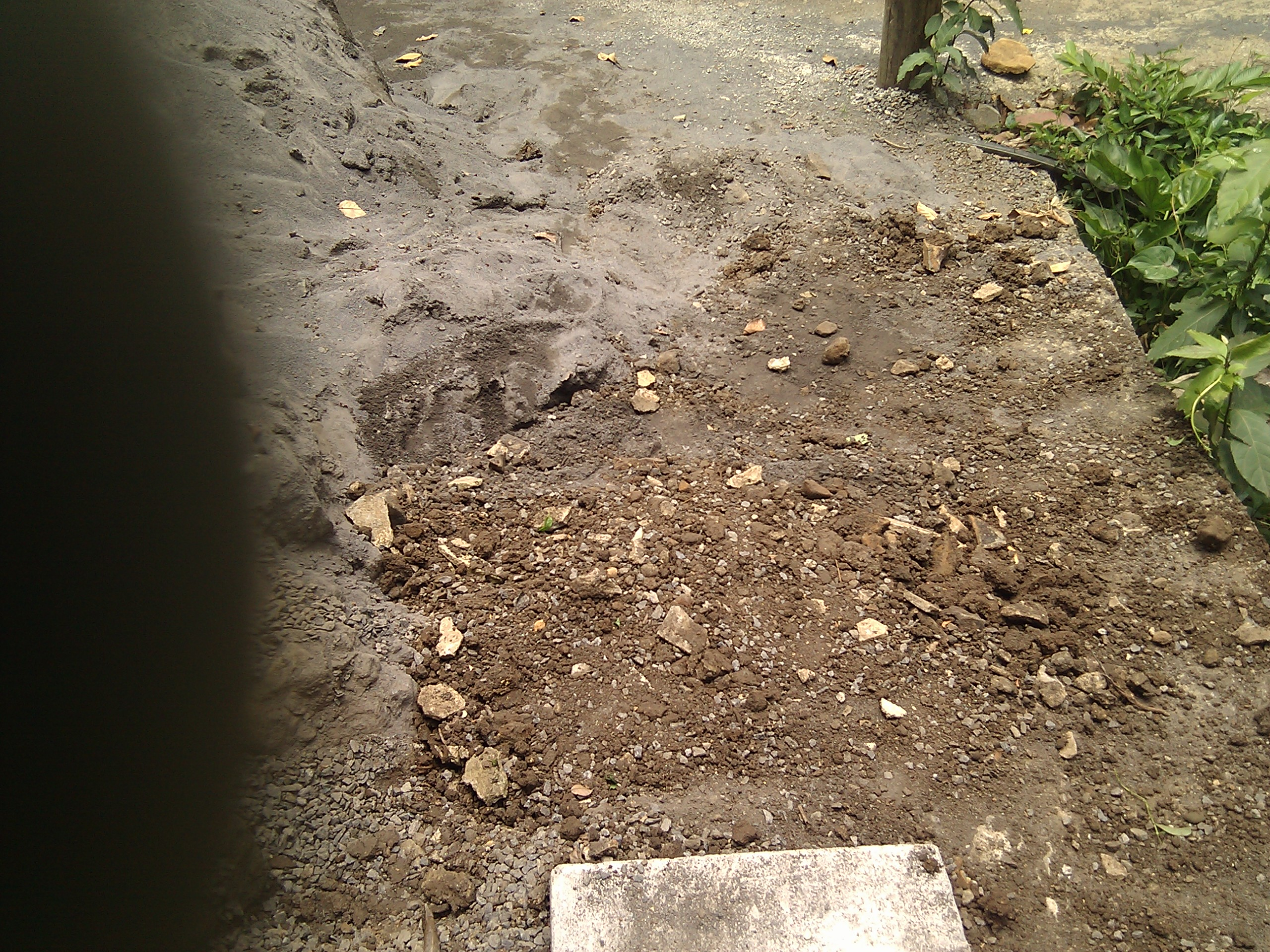 Picture of The Last Part of Installing the Ground Slabs