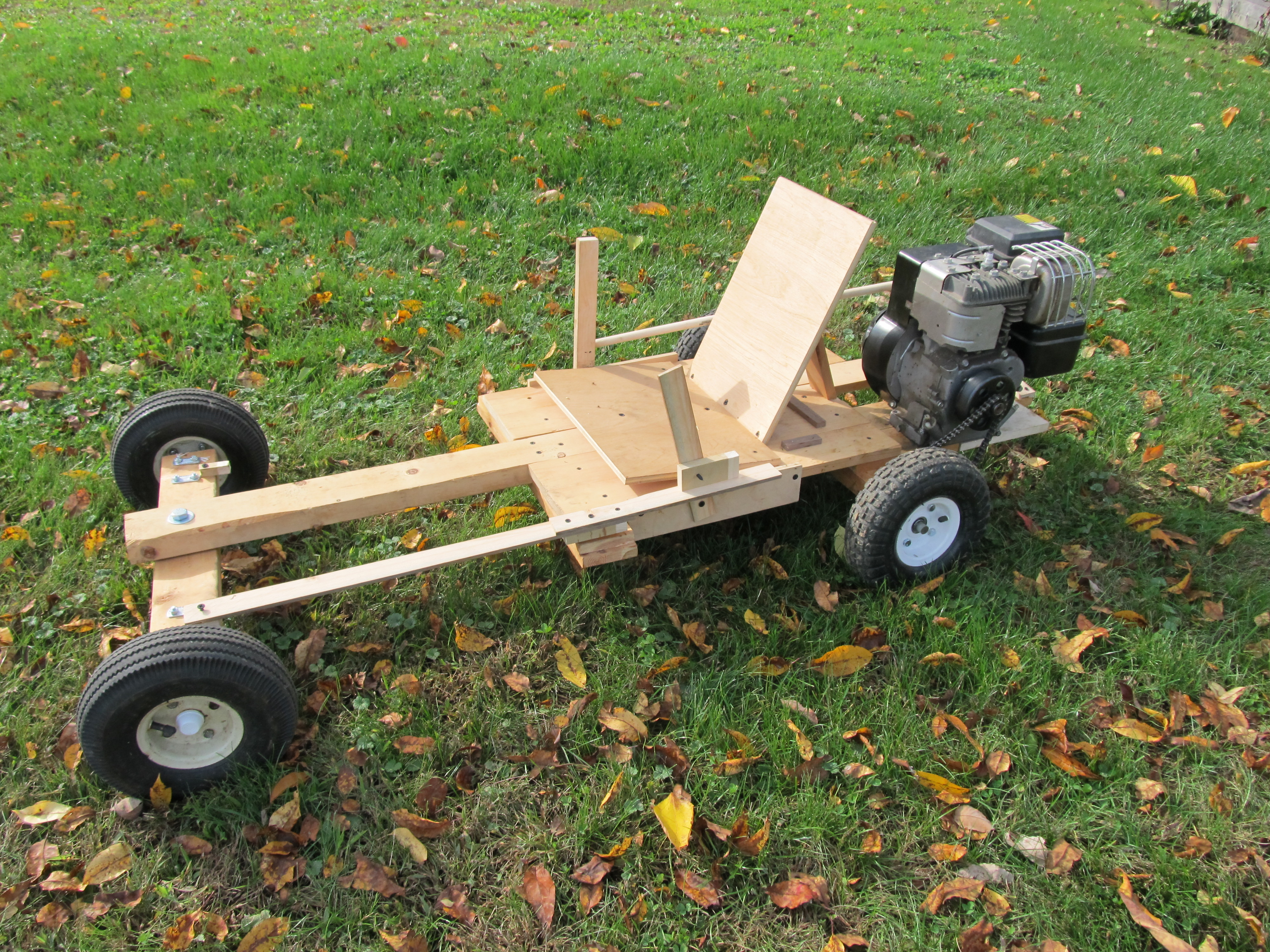 Homemade Wooden GoKart: 6 Steps (with Pictures)