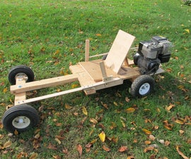 Homemade Wooden GoKart