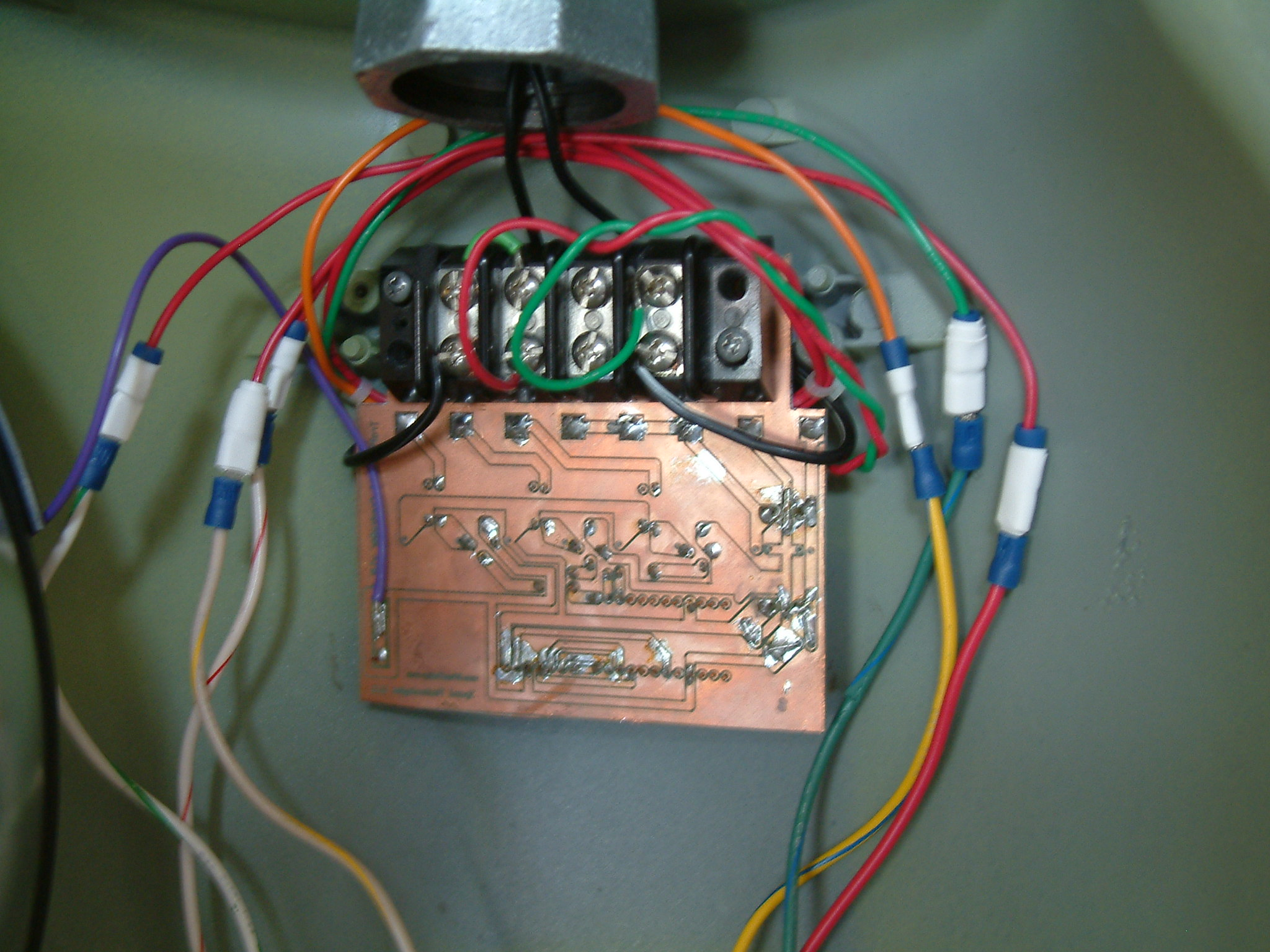 Picture of Install the PCB