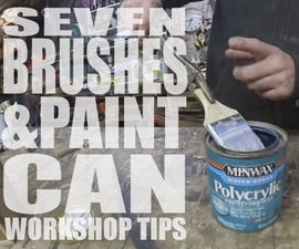 7 Brushes & Paint Can Workshop Tips - Jimmy DiResta Collaboration