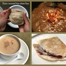 Whole Wheat Flour Dishes (Gluten Removed)