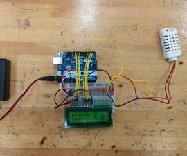 Arduino Greenhouse Control - Humidity and Temperature