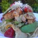 Pasta Crab caker