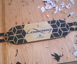 Custom Longboard Grip Tape Design !