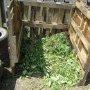 simple pallet compost bin