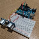Ultrasonic sensor in openFrameworks using Arduino