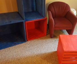 Jumbo Nested Crates