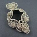 Carnival Pendant - Wire Weave Tutorial - Weaving Swirl Shapes
