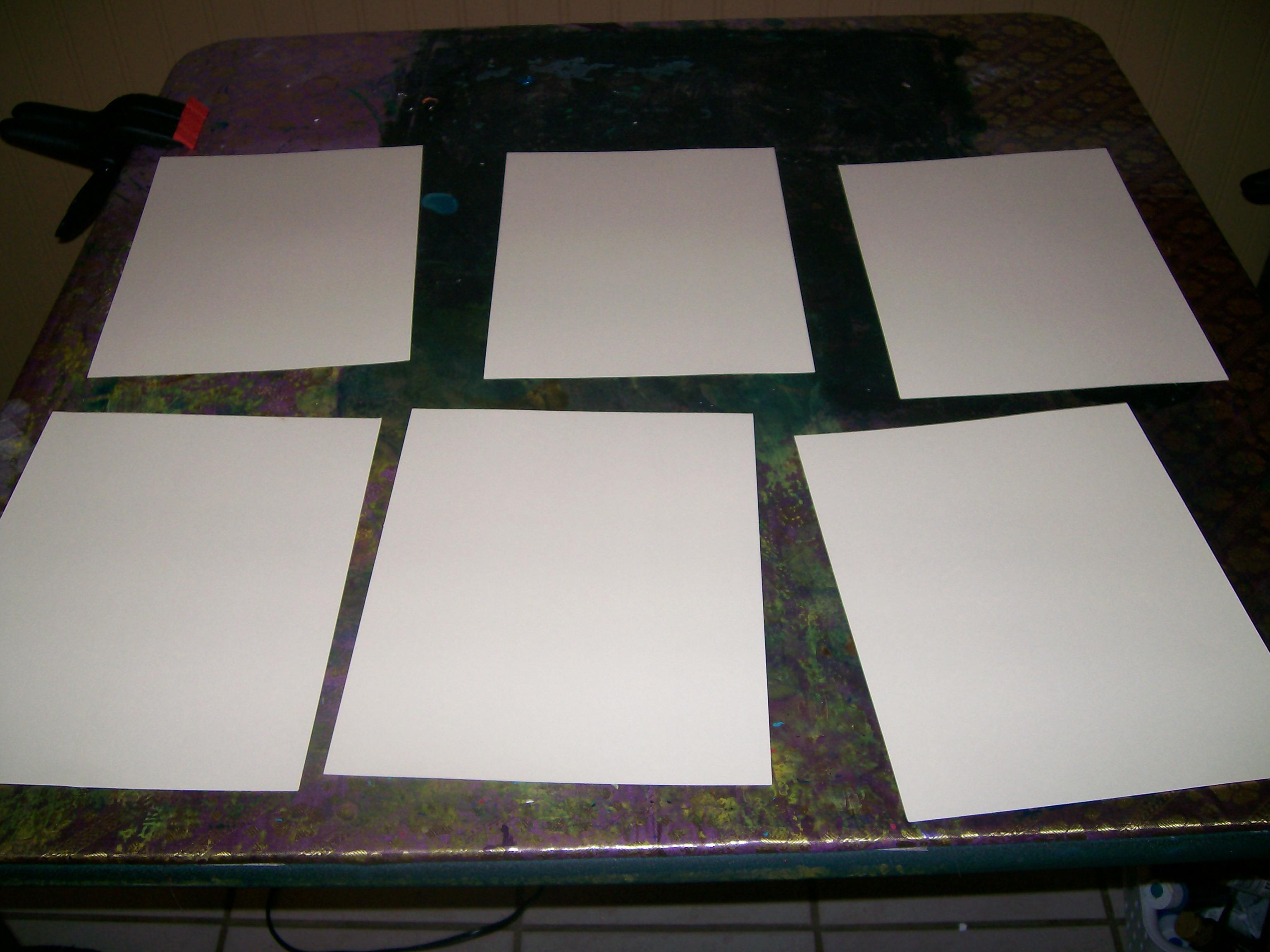 Picture of Prepare the Cardstock