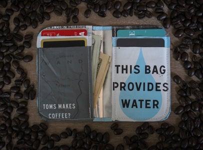 DIY Coffee Bag Wallet