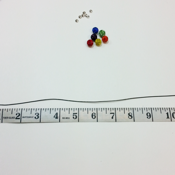 Picture of Size Your Bracelet & Prepare for Stringing Your Beads