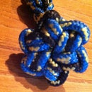 Star Button Knot Key Chain/Bracelet