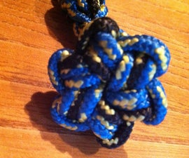 Star Button Knot Key Chain/Bracelet