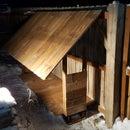 Reclaimed Firewood Rack