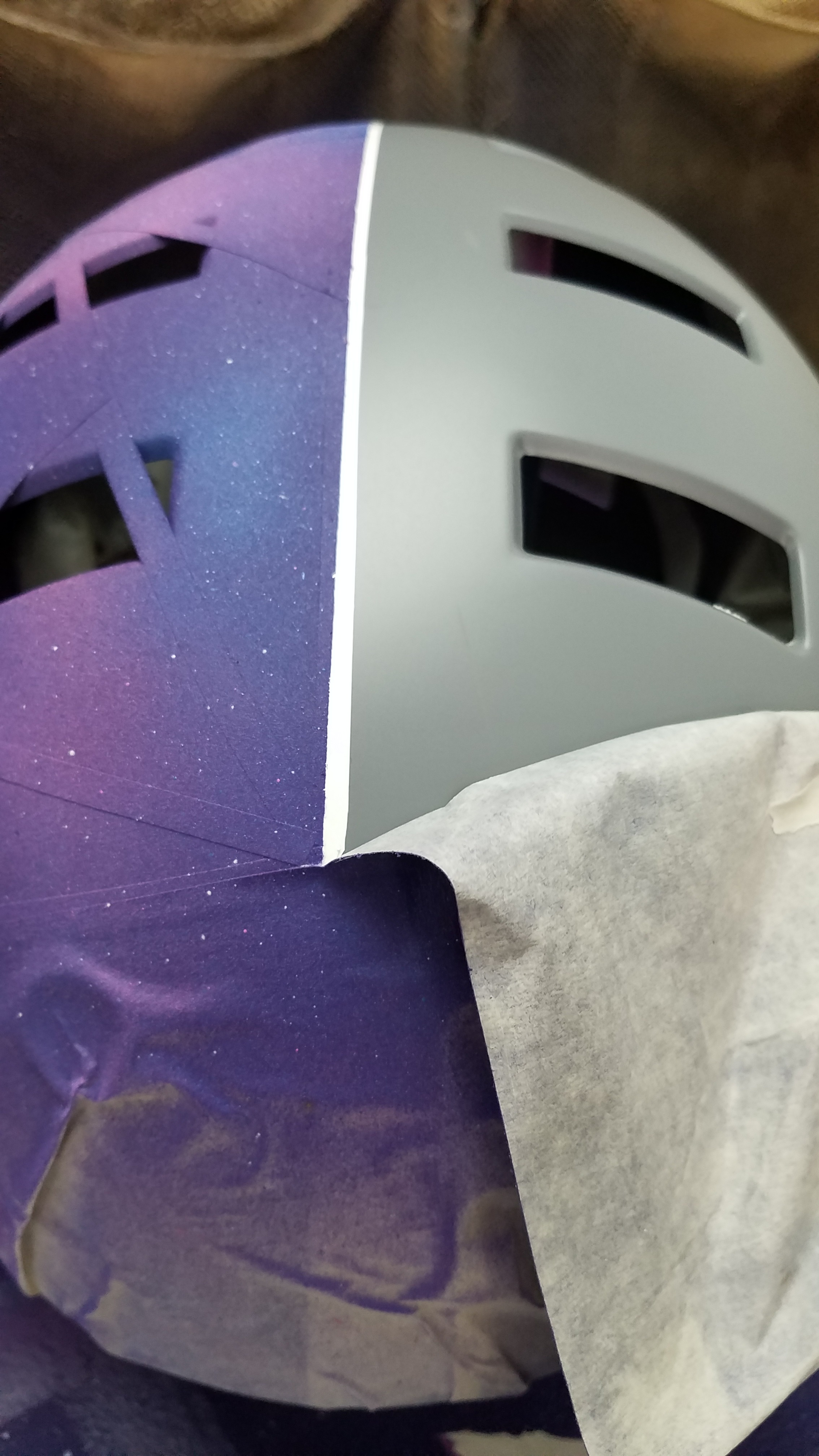 Picture of Carefully Peel Off All of Your Masking.