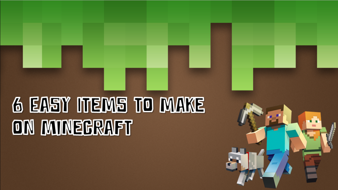 Picture of How to Make 6 Easy Iteam on Minecraft