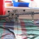 Knex sniper rifle M110