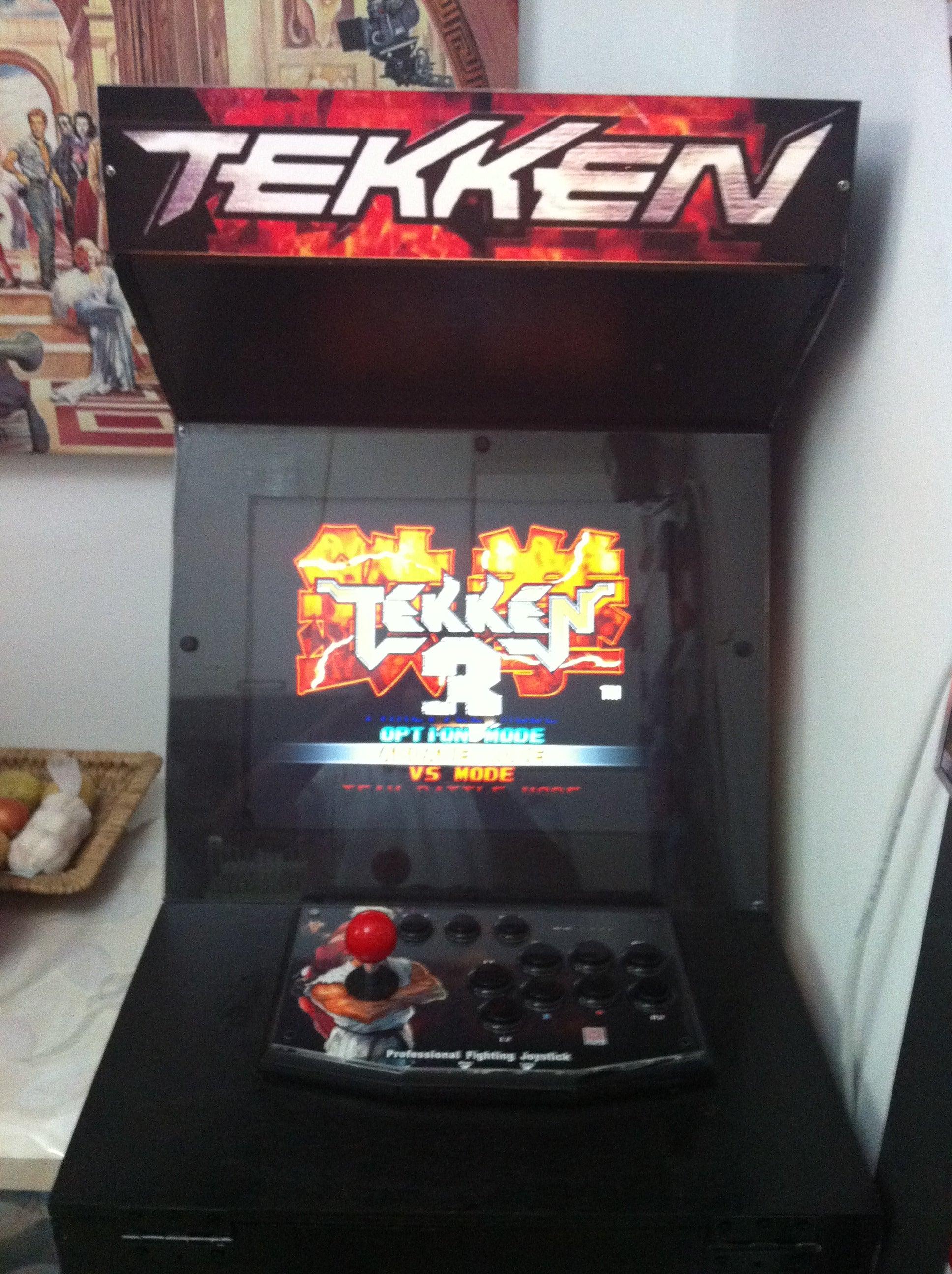 Intro Diy Tekken 3 Arcade Macine 23 Steps Instructables