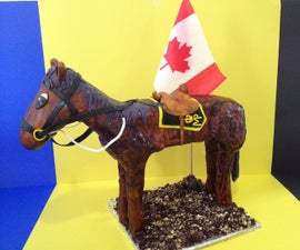How To Make 3D Pony Cake (Horse Cake)